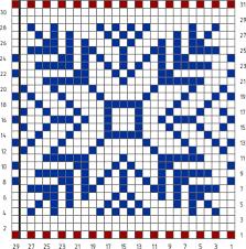 Knit Together Norwegian Jacquard Pattern 2 Knitting