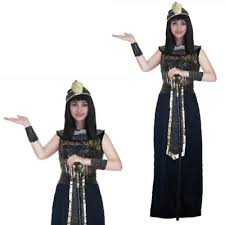 Attractive LADIES DELUXE EGYPTIAN Queen Costume Cleopatra Ancient Roman Egypt Goddess  Party   $24.15 | PicClick