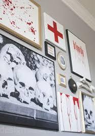 halloween gallery wall decor hallowen walljpg