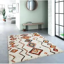 moroccan diamond rug high pile diamond cream rug moroccan diamond rug blue