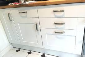 White Kitchen Drawer Pulls Cabinet Doors Gloss  With Hinges And L44