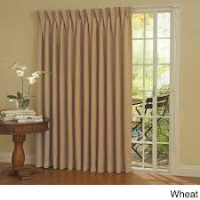 Patio Door Curtain Eclipse Thermal Blackout Patio Door Curtain Panel Walmartcom