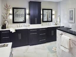 traditional black bathroom. How To Design A Luxury Bathroom With Black Cabinets | Buffets And Traditional I