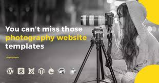 Photography Website Templates Amazing 28 Photography Website Templates You Can't Miss PixelEmu