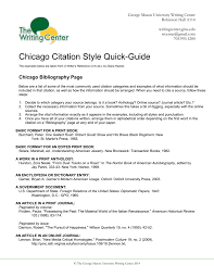 Chicago Quick Guide
