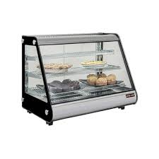 new air ndc 016 ht 36 straight glass countertop heated display case