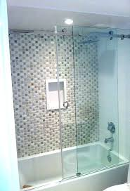 installation cost tub glass bathtub doors images sliding door for bathtubs open fortezz com