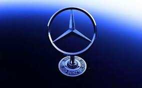 mercedes benz logo png. so from this company has decided their logo initially was of blue colored but after first participation in grand prix they have changed into mercedes benz png