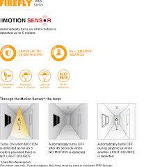 Firefly Electric Lighting Corporation Pro Series Led Motion Sensor Firefly Electric Lighting