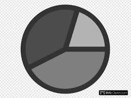 Pie Chart Clip Art Icon And Svg Svg Clipart