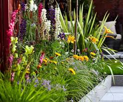 Small Picture Garden Border Ideas Photos Native Garden Design Garden Flowerll