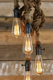luminosity lighting milwaukee. the hydra chandelier - industrial manila rope pendant light swag ceiling lamp accent hanging lighting rustic edison bulb luminosity milwaukee c