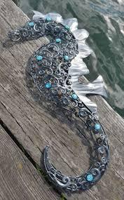 large metal seahorse wall art on seahorse wall art metal with large metal seahorse wall art dorset