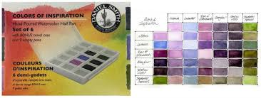 Watercolor Combination Chart Color Mixing Charts How To Make Them And Why Daniel