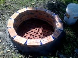 how to build a brick fire pit for you how to build a round brick fire
