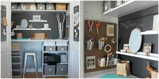 Awesome Office Closet Organization Ideas Small Office Organizing