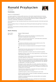 40 Quality Assurance Analyst Resume Letter Signature Gorgeous Quality Assurance Analyst Resume