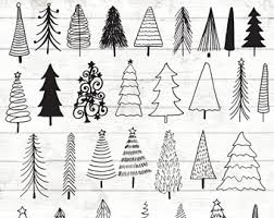 Of A Christmas Tree With Ornaments  Royalty Free Clipart PictureChristmas Tree Outline Clip Art