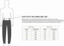 Womens Trouser Size Chart Uk Mens And Ladies Belt Size Guide The British Belt Company