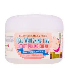 <b>Крем</b> для лица Elizavecca Real Whitening Time Secret Pilling <b>Cream</b>