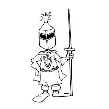 Ridders Kleurplaten Leuk Voor Kids