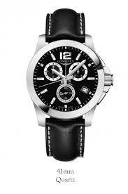 buy longines l3 660 4 56 3 conquest quartz mens watch £689 00 longines l3 660 4 56 3 conquest quartz mens watch