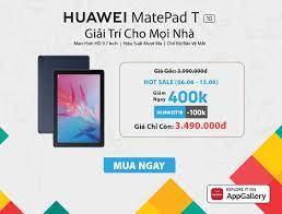 Máy Tính Bảng HUAWEI MatePad T 10 | Hiệu Suất Mượt Mà | Chế Độ Bảo Vệ Mắt |  Âm Thanh Nổi Sống Động | Hàng Chính Hãng - Máy tính bảng Thương hiệu Huawei