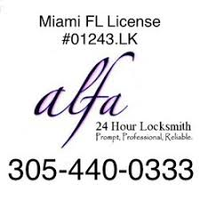 24 hour locksmith. Wonderful Hour Photo Of Alfa 24 Hour Locksmith  Miami FL United States Miami In