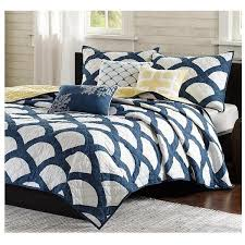 Bed Quilts – Sky Iris & navy-and-white-quilt Adamdwight.com