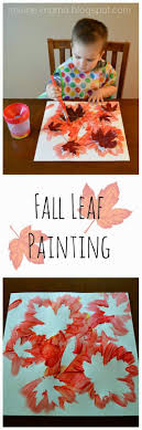 Fall Leaf Painting. Fall Toddler CraftsThanksgiving Activities For KidsHalloween  ...
