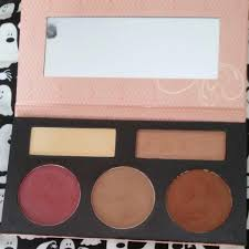 bh cosmetics forever sculpt glow contour highlight blush palette bh 6100 010 um deep