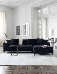 Low Living Room Furniture Meridiani I Lewis Up Modular Sofa I Peck Low Table I Lalit Rug
