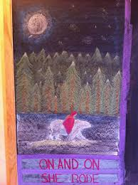 waldorf grade writing reading east o the sun west o the moon chalkboard drawing
