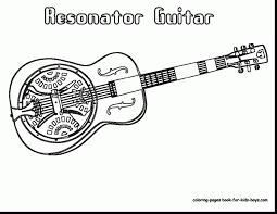 Small Picture spectacular guitar coloring page alphabrainsznet