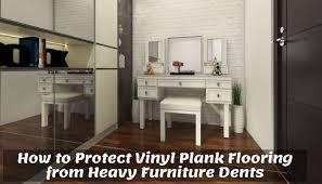 how to protect vinyl plank flooring