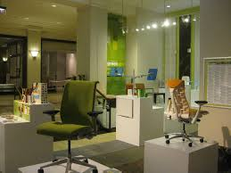 color scheme for office. Compact Showroom Office Design Ideas With Spacious Layout : Good Looking Interior In Color Scheme For