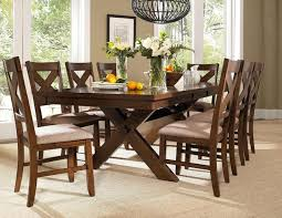 powell 9pc wood kraven dining set 713 417m3 ebay gorgeous 4 piece dining table