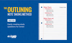 Methods Of Charting How To Take Study Notes 5 Effective Note Taking Methods