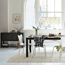parsons expandable dining table from west elm
