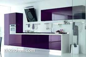modern purple color design acrylic kitchen cabinets with inspirations dark grey