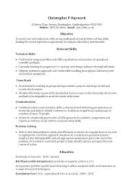 One Page Resume Examples Fresh One Page Resume Beautiful Skills ...