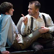 All I See Is You review – smitten but bruised as love and law collide |  Theatre | The Guardian