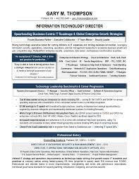 It Manager Resume 11 It Director Sample Writer Technical Recruiter