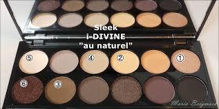 sleek i divine eyeshadow palette au naturel อายแชโดว ส i primed my eye with urban decay s primer potion and applied nyx jumbo eye pencil