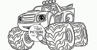 Bigfoot Coloring Pages Free At Free Printable Blaze Coloring Pages