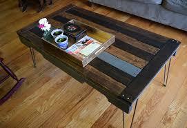 diy pallet board coffee table