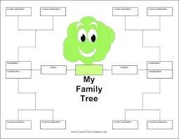 Free Printable Family Tree Family Tree Free Printable Family