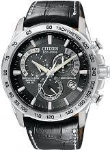 "mens sports watches watch shop comâ""¢ mens citizen chrono perpetual a t alarm chronograph radio controlled eco drive watch at4000 02e"