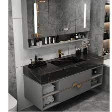 rockboard bathroom vanity combination