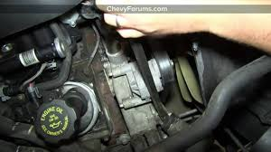 How to Replace Thermostat and Housing in Chevy Silverado - YouTube